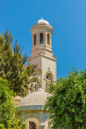 Limassol Cyprus. September 1 2019. A view of Agia Napa church in Limassol in Cyprus