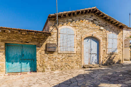 Lefkara cyprus. August 27 2019. A view of traditional local architecture in Lefkara Village cyprus