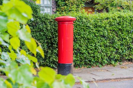 Post Box, Hampstead, London England United Kingdom Europe