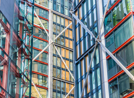 Colourful architecture architecture in London in England
