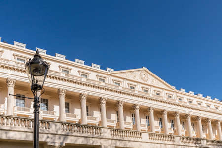 July 2020 London. Grand architecture in Pall Mall in London uk