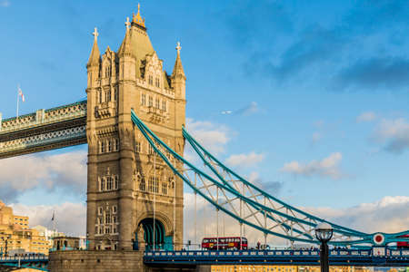 June 2020. London Tower bridge in London, Uk