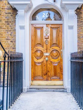 June 2020. London. Doors in St James, London,England UK Europe
