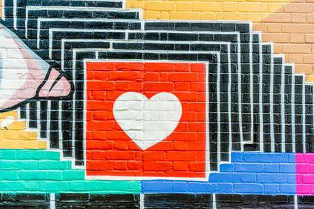 June 2020. London. Street art in Shoreditch, London, England Uk Europe
