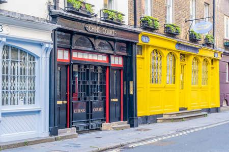 June 2020. London.A street scene in Covent Garden , London, Uk Europe