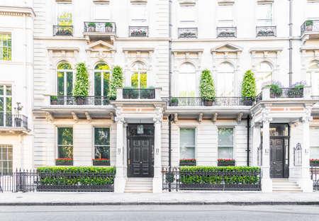 June 2020. London. A street scene in Belgravia, London, Uk Europe Imagens