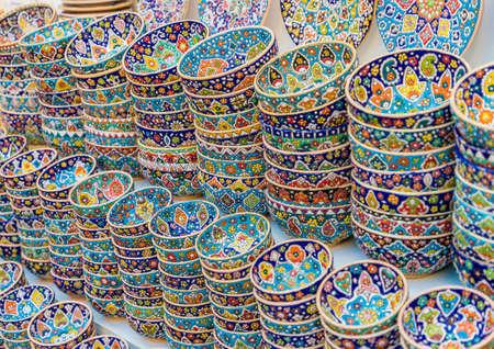 Local souvenirs for sale in Al seef in Dubai UAE