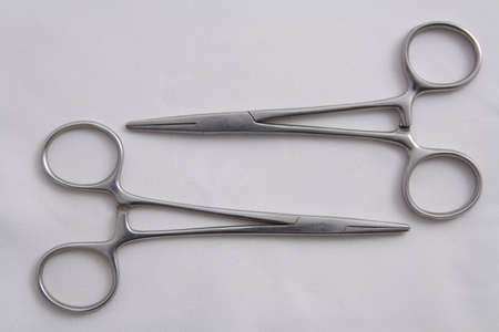forceps: Two Artery Forceps (Surgical Instruments)