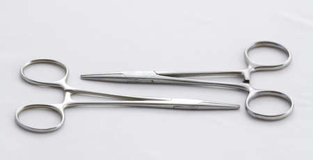forceps: Two artery forceps