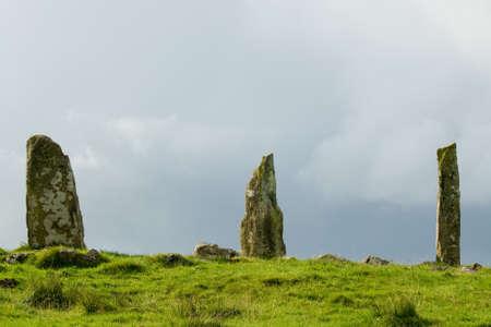 Mull:  Standing Stones, Isle of Mull, Scotland