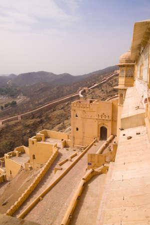 amber fort: Amber Fort near Jaipur, India Stock Photo