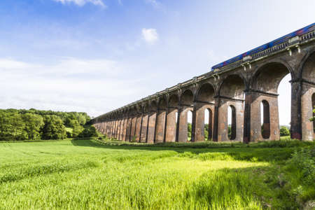 ouse: Balcombe Ouse Valley Viaduct for the London and Brighton Railway.