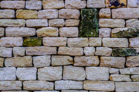 drystone: Newly built drystone wall