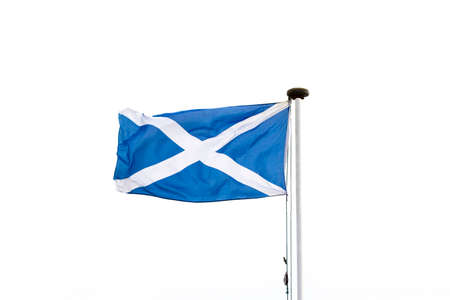 scottish flag: La bandiera scozzese o Saltire