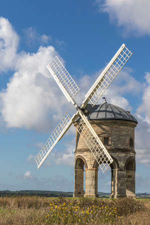 jones: Chesterton Windmill, Warwickshire,England, built in 1632, possibly designed by Inigo Jones, its structure and mechanism are unique