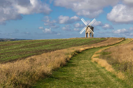 possibly: Chesterton Windmill, Warwickshire,England, built in 1632, possibly designed by Inigo Jones, its structure and mechanism are unique