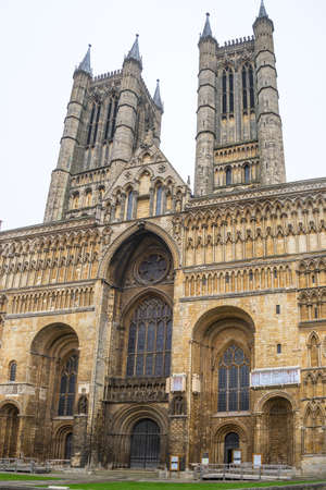 lincoln: Lincoln Cathedral, Lincoln, England, built from 1088 over several phases