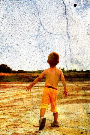 child in nature Stock Photo - 3081567