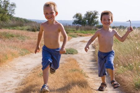 youthfulness: running children