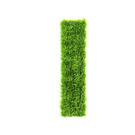 grass lower-case letter  - L Stock Photo - 7488178