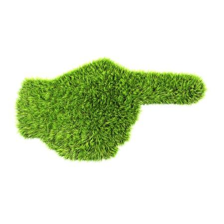 grass hand