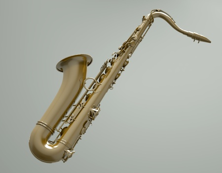alto: Saxophone Stock Photo