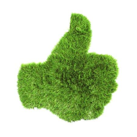 ecologist: grass up hand sign