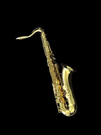 musique: Saxophone Stock Photo