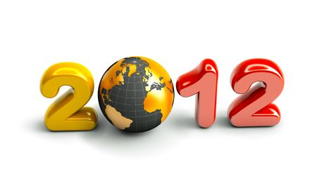 worldwide wish: 3d new year 2012
