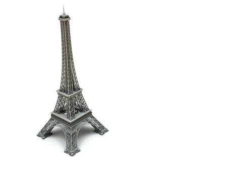 built tower: Eiffel Tower In Paris