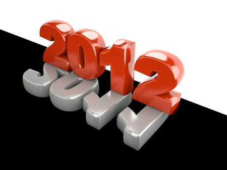 3d new year 2012 photo