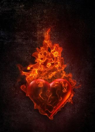 Ardent heart Stock Photo - 11545861