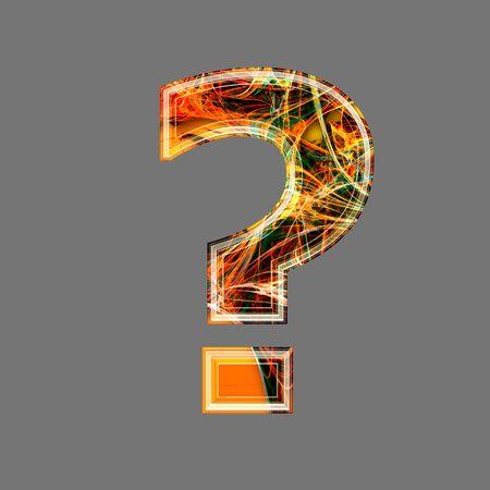 point d interrogation: futuriste point d'interrogation 3d Banque d'images
