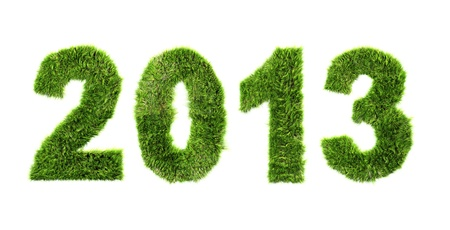 New year background - ecology concept Stock Photo - 17438077