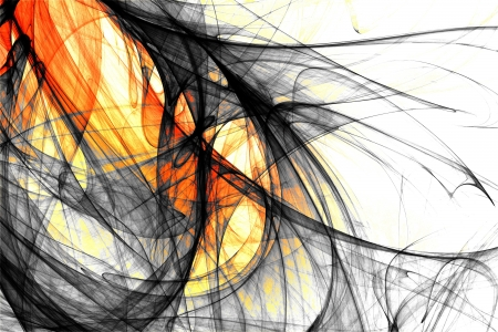 Abstract and futuristic fractal background Stock Photo - 18721985