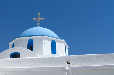 A Typical church in Greece photo