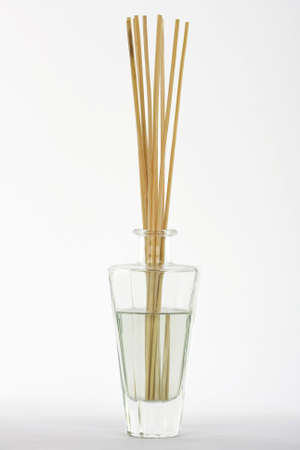 air diffuser: fragrance reed diffuser on white background