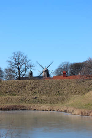 bastion: Windmill at Bastion of Copenhagen