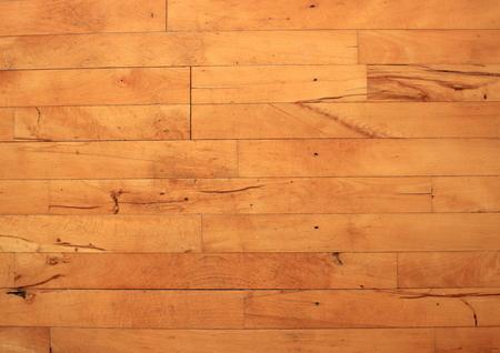 beechwood: Old floor of flammed beechwood with nails