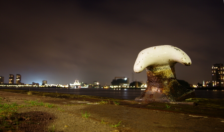 cleat: Mooring Cleat in Rotterdam