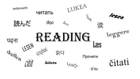 reading in many languages and different fonts