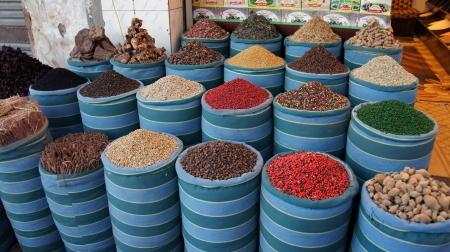 bazaar in hurghada Standard-Bild