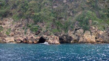 lipari: impressions from island lipari in southern italy in autumn