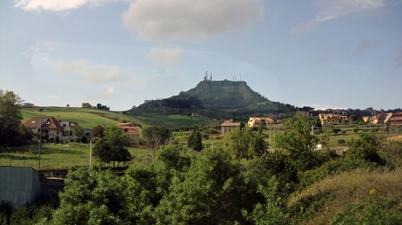 impressions fromregion around agriento in sicily,italy photo