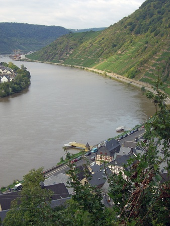 mosel: impressions from mosel river and region Stock Photo