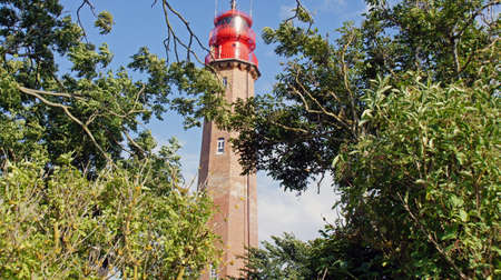 old lighthouse in fehmarn in schleswig holstein photo