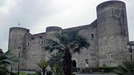 Impressies van gezellige stad Catania op Sicilië Stockfoto - 21339442