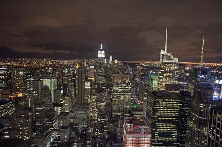 skyline from new york city photo