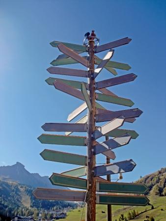 Soms is het moeilijk om de juiste weg te vinden Stockfoto - 24018624