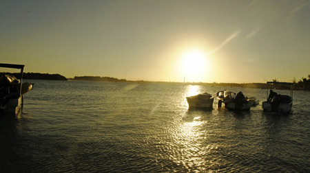 chica: caribbean sunset in boca chica